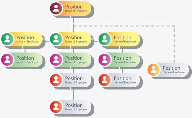 Organization Chart Template  Organization Structure  Chart