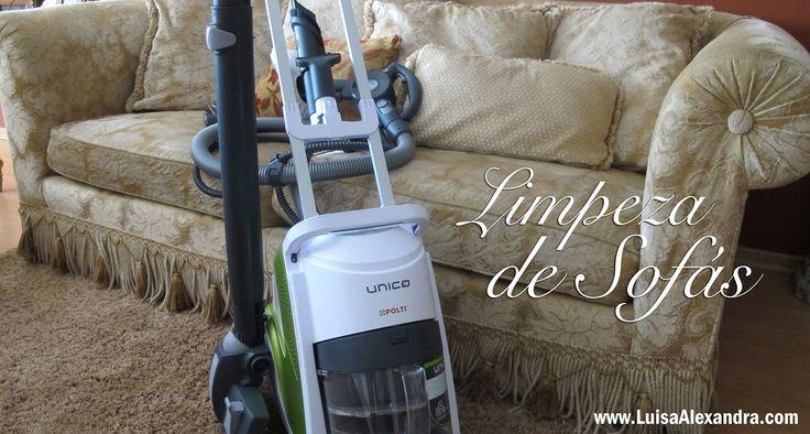 Limpeza de Sofás com o UNICO Allergy Multifloor & Windows • Polti • www....