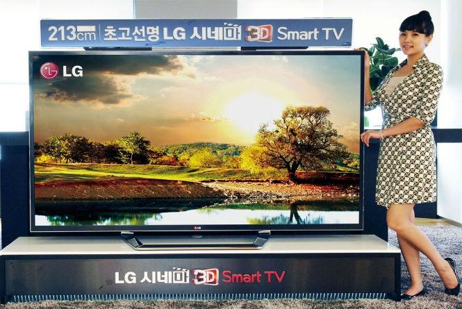 A LG informou que em outubro chegará ao Brasil, por R$ 40 mil, sua TV de ultra definição, tecnologia conhecida hoje como 4K - são 8 milhões de pixels, o que significa uma resolução de 3.840 por 2.160. Além da fantástica tela de 84 polegadas, a TV tem recursos incríveis - vale a pena conferir na INFO Online, por Augusto Garcia.