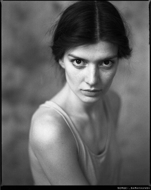 Jane sergei sarakhanov mamiya rz67 pro sekor z 110mm f 2 8 kodak · black and white portraitsfilm