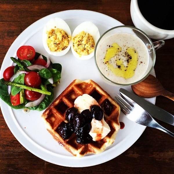 ワンプレート朝ご飯
