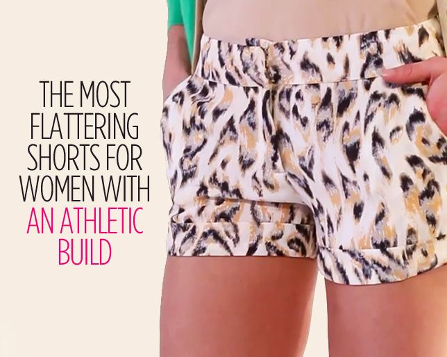 The Most Flattering Shorts for Women with an Athletic Build