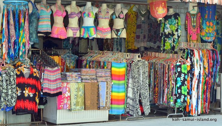 Koh Samui Island Info Picture Galleries Temples Beaches Shopping  Nathon Shopping Gallery