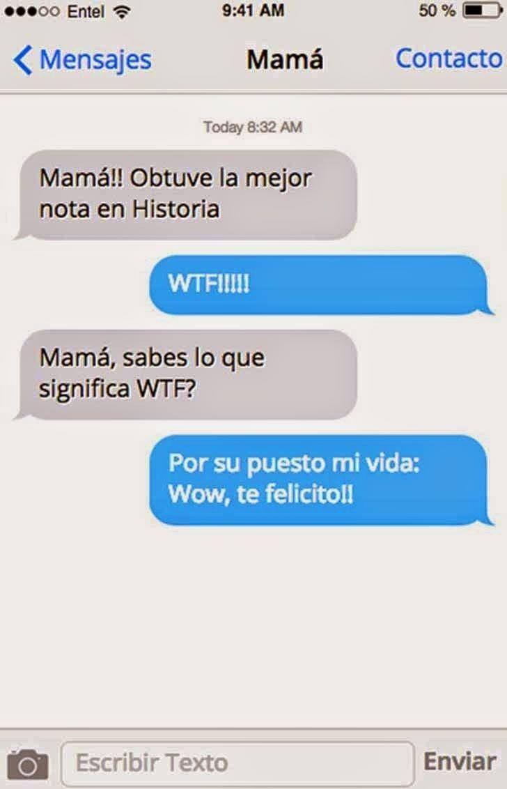 26 Mensajes de WhatsApp que solo una mamá envía