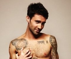 Thank you Lord, for Adam Levine.  Amen.