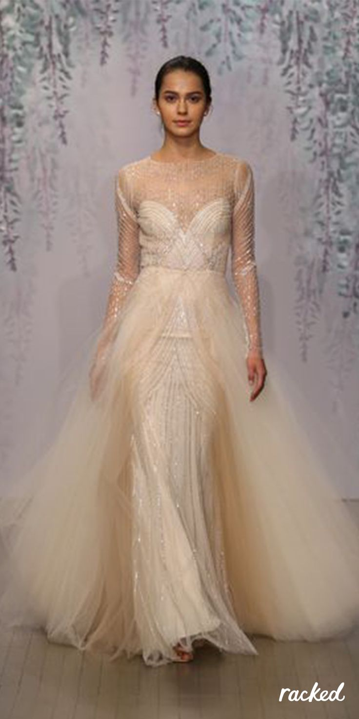ethereal wedding dress 26 bridal week gowns so ethereal they ll make you weep 3935