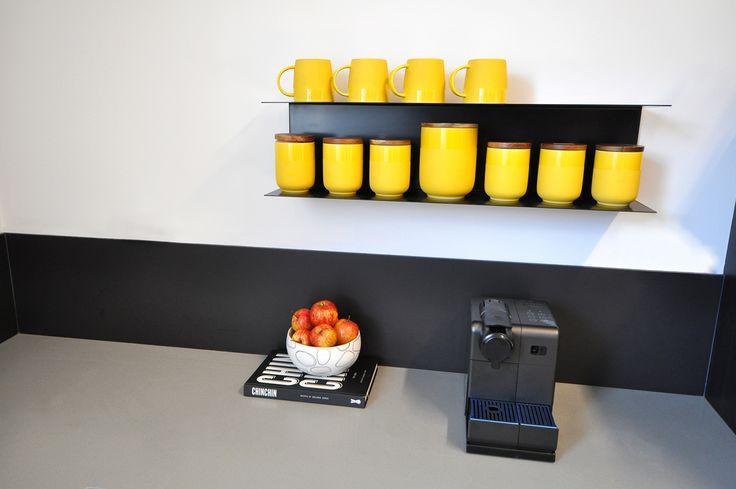 Valentine interiors + design. Kitchen design for Physiotherapist, Back In Motion, Hobart.