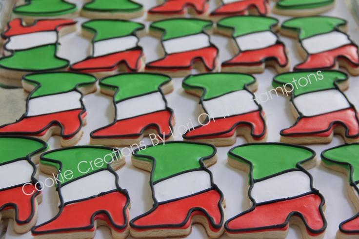 Nationality Italy cookies ~Italian Boot