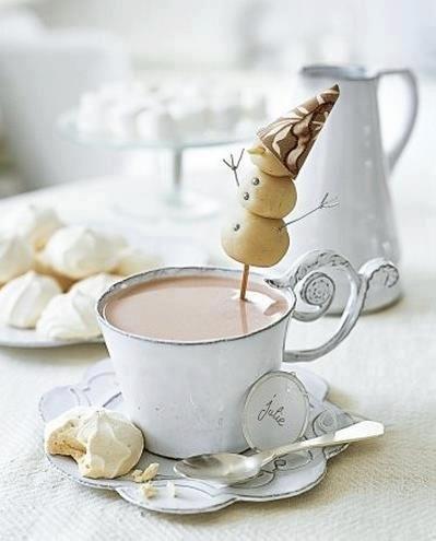 winter hot cocoa
