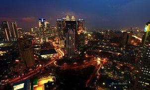 Jakarta in Blue Hour