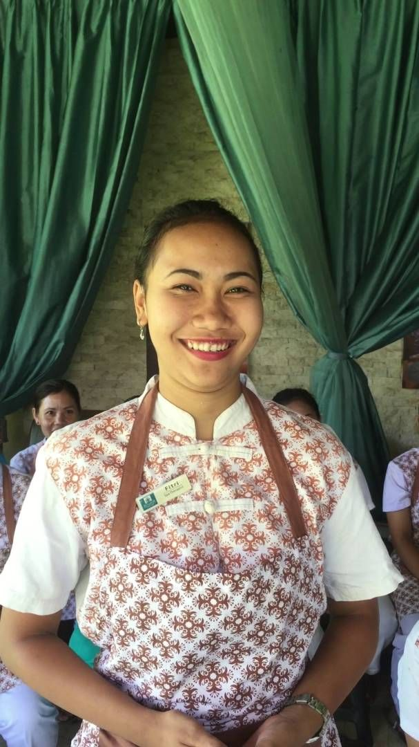 Aroma Spa Retreat Sanur Bali New staff how cute is this