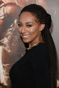 60 Totally Chic Box Braids Hairstyles #Box #Braids #Hairstyles
