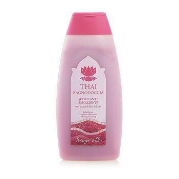Thai - Bagnodoccia con acqua di Fior di Loto e Ibisco (250ml) - Setificante, emolliente