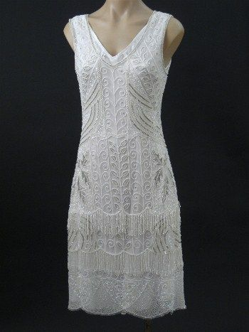 For my next wedding, I want to have a 1920's theme and now I found a place for the dresses! Lovely!