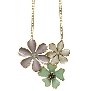 Pilgrim Blooming Pastel Mix and 16ct Gold Plate Large Pendant: Pilgrim: Amazon.co.uk: Jewellery