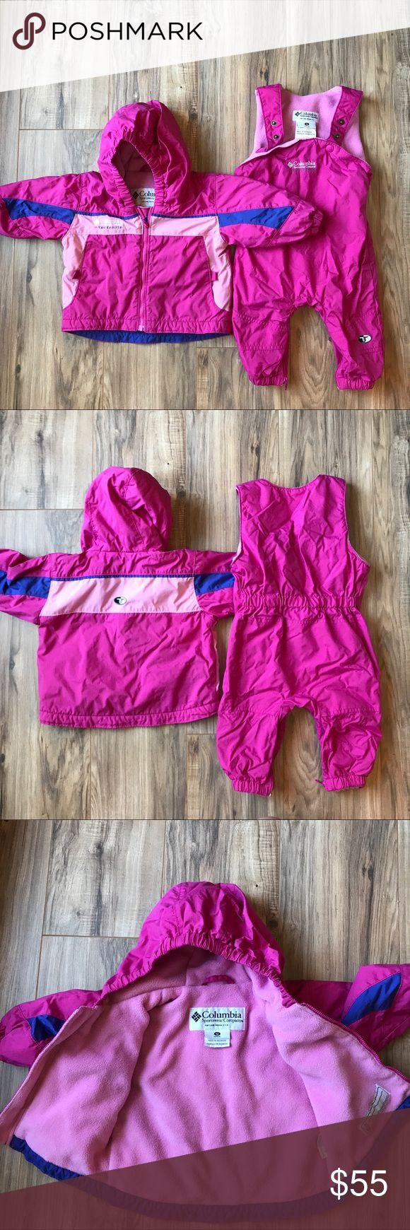 Girls Columbia Sportswear Ski Bibs and Jacket. 💗 In EUC 💗 Columbia Matching Sets