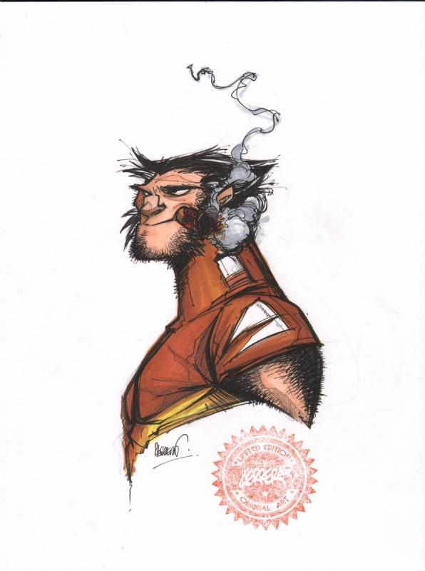 Francisco Herrera Wolverine Comic Art