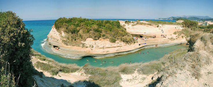 Canal d'Amour, Corfu Island - mygreekfriend.travel