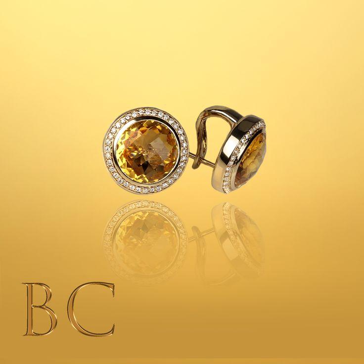 The quality you deserve.  A qualidade que você merece.  #SuelleHarts #citrinos#citrine#diamonds#gold