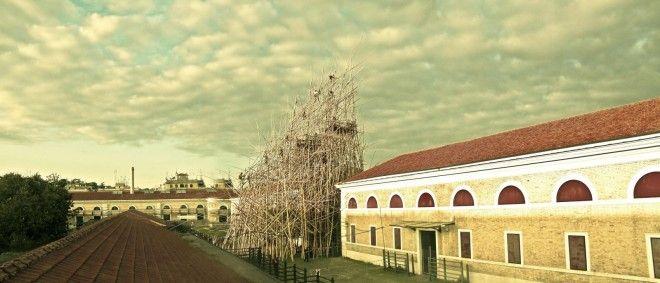 Enel Contemporanea 2012. Big Bambú @ MACRO Testaccio, 11.12.2012 — 31.10.2013 [Mike e Doug Stern, Big Bambú, 2012] #roma #arte #enel