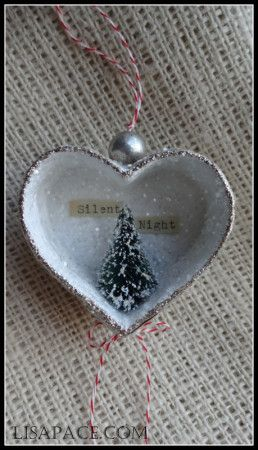 Silent Night. i think these r cute we could make some of these tina