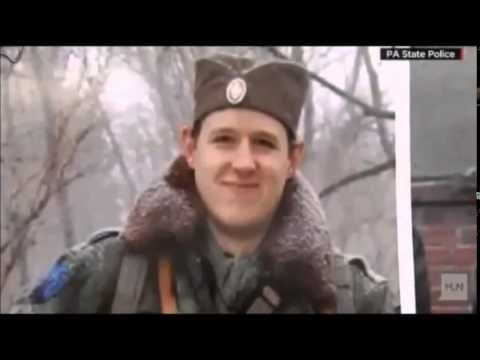 Eric Frein...no real Media Player for this cop killler. No mug shot. Made to look like a boyscout insteas of someone that ambushed two unsuspecting cops...killing trooper Bryon K. Dickson II and seriously wounding trooper Alexei Douglass before leading authorities on a 48-day manhunt.