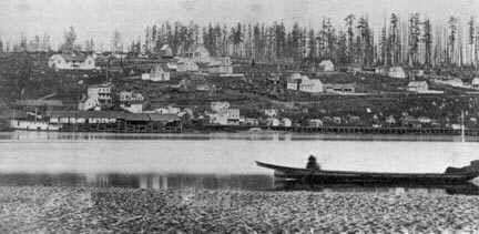1858 The Fraser River Gold Rush.