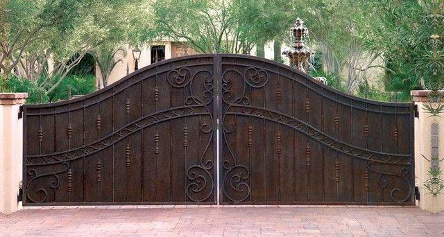 What an elegant entry gate!