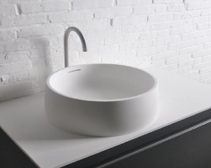 free standing washbasin 420x150mm