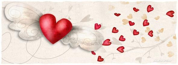 Lovely Facebook Timeline Covers for Valentine's day!
