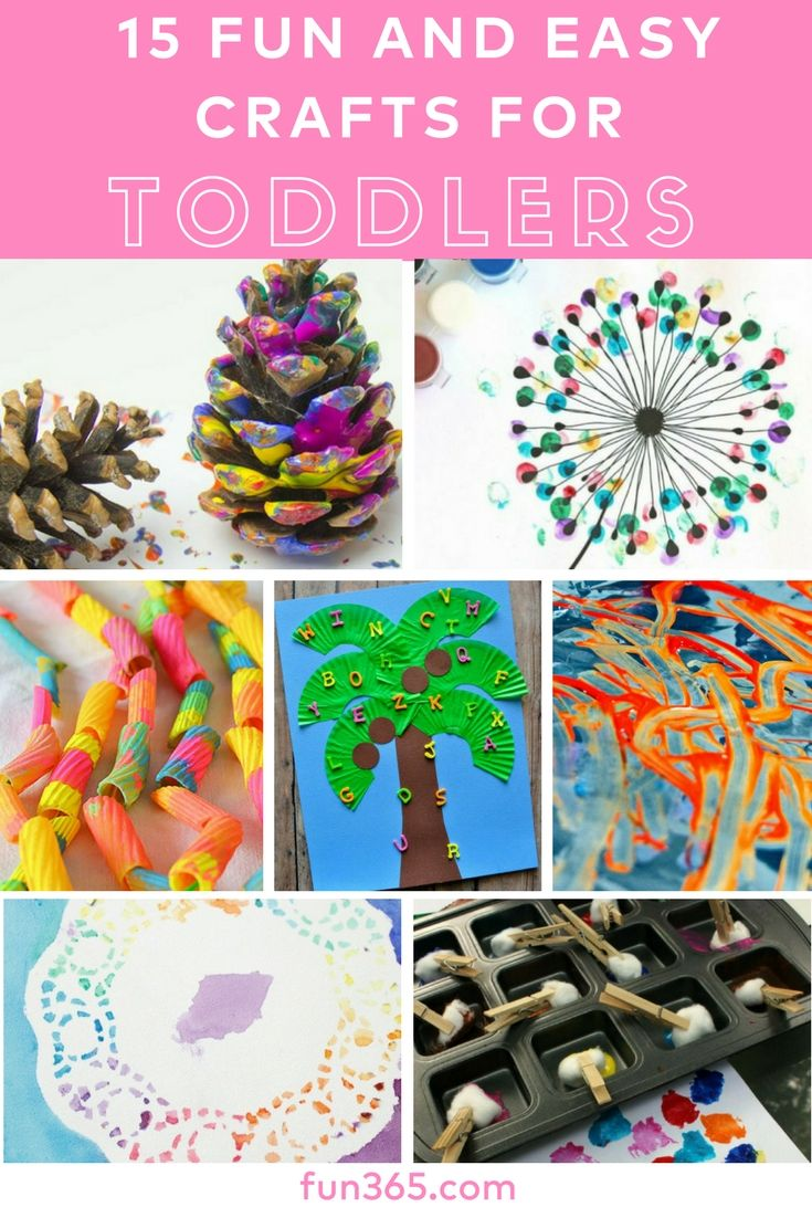 Discover Our Favorite 15 Fun Easy Crafts For Toddlers These