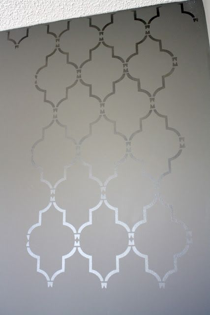 Love this quatrefoil pattern....kind of Morrocan...