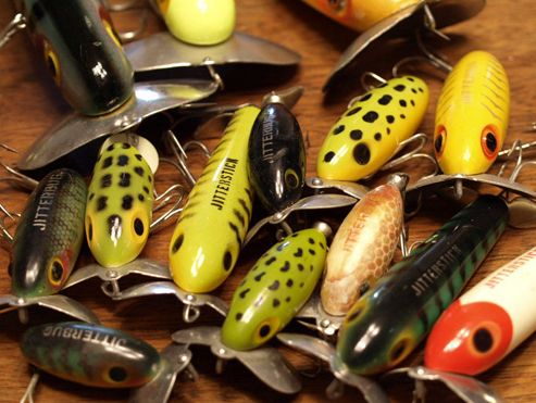 Jitterbug in the 1930s fred arbogast developed perhaps the for Weird fishing lures