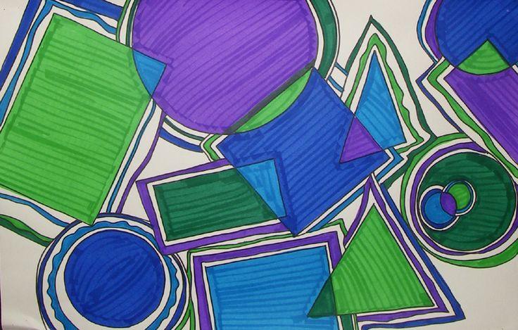 Shapes Designs Art : Best design ideas images on pinterest