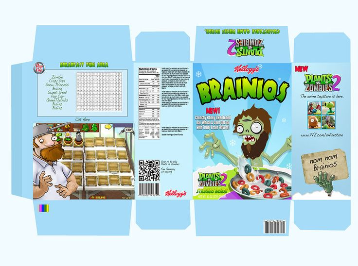 1000 images about cereal box design on pinterest adobe for Design your own cereal box template