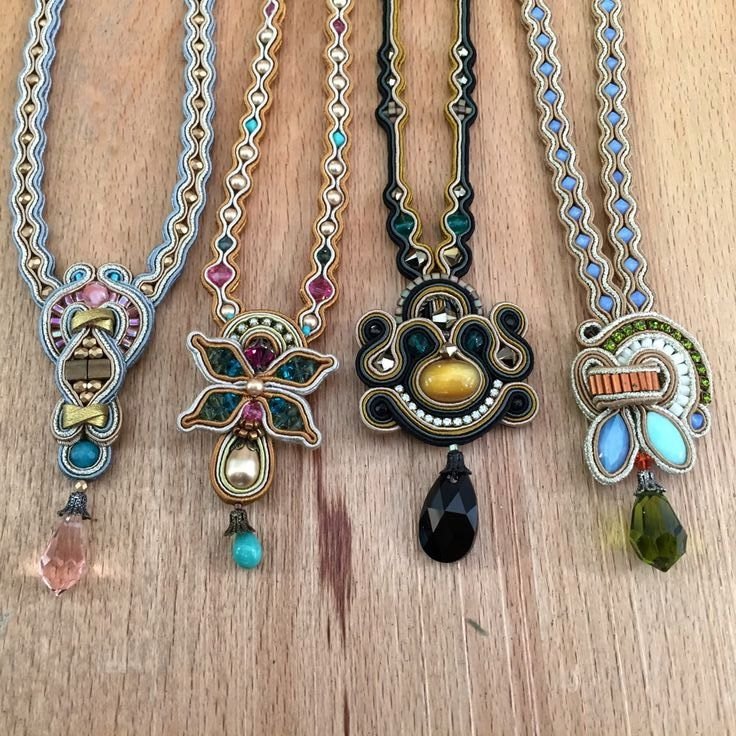 Colorful pendants on display at our Tel Aviv store. Which one is your favorite?  #DoriCsengeri #pendants #tlv #telaviv #jewelrystore #handmade