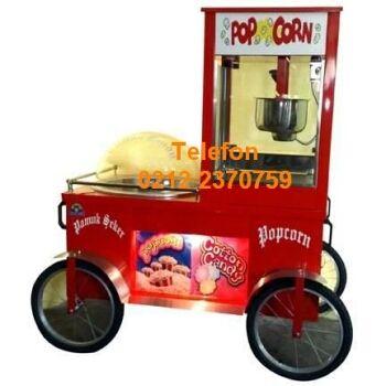 Pamuk Şeker Arabalari : Tüplü Pamuk Şekeri Elektrikli Pop Corn Arabası - Tüplü Pamuk Şekeri Elektrikli Popcorn Arabası : Arabalı endüstriyel mısır makinası pamuk şekeri makinası bölümündeki bu 2 makinalı arabalı satış arabası modeli dayanıklı ve kaliteli bir mısır patlatma pamuk şekeri makinası modelidir. Diğer arabalı satış makinası çeşitleri; elektrikli pamuk şekeri makinası gazlı mısır patlatma makinası çeşitleri satışı için arayınız 0212 2370749