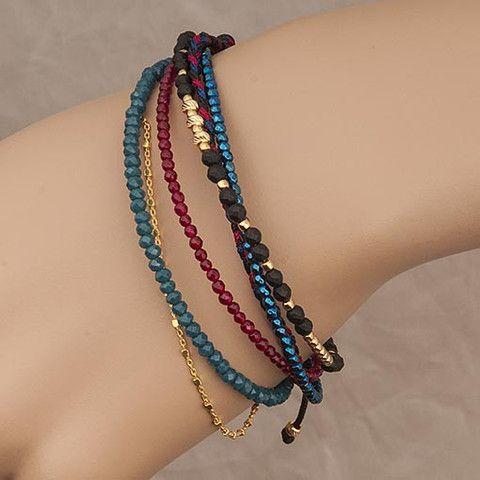 Multicolor Bracelet Agate  At Anthoshop.com