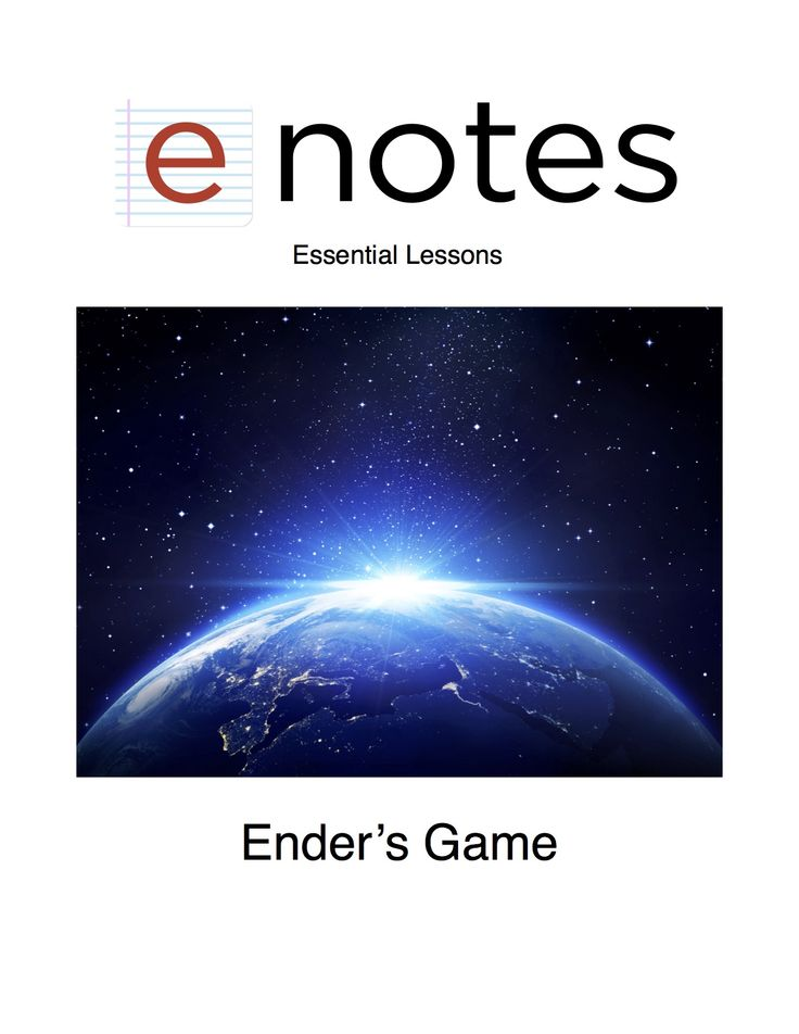 an analysis of orson scott cards enders game novel Free study guides and book notes including comprehensive chapter analysis, complete summary analysis, author biography information, character profiles, theme analysis, metaphor analysis, and top ten quotes on classic literature.