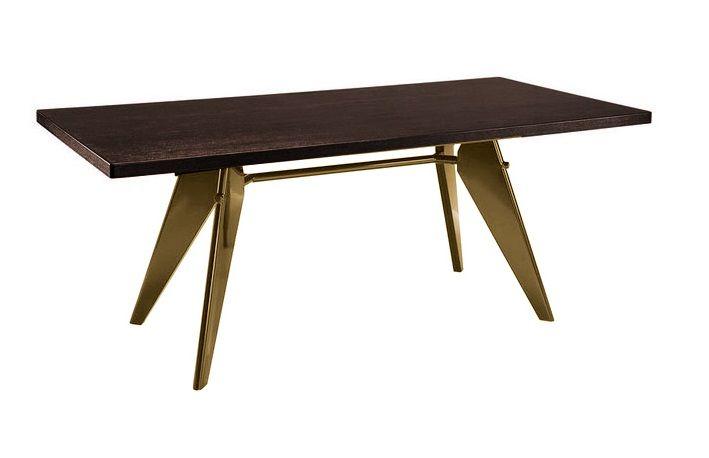 """Дизайнерский стол Cтейшн 84425 темное дерево: купить в интернет-магазине """"Ваш Дом Мебель"""""""