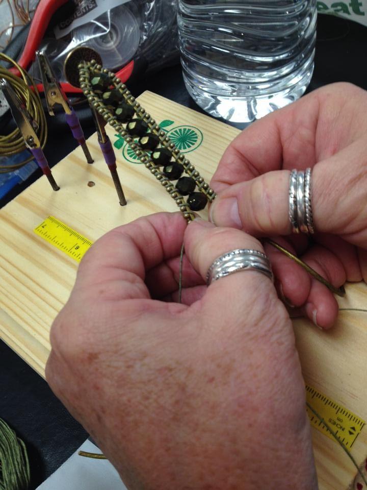 Ball Chain Bracelet - Garden of Beaden, CA