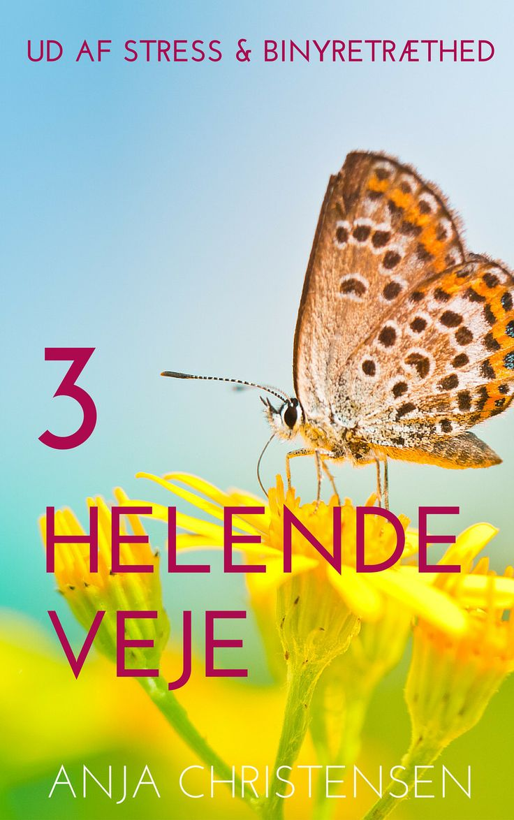 Gratis bog: 3 Helende Veje ud af stress og binyretræthed |