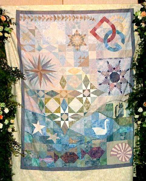 17 Best images about STORM AT SEA QUILT on Pinterest Mariners compass, Patterns and Summer quilts