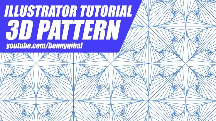 Illustrator Tutorial 3D Pattern