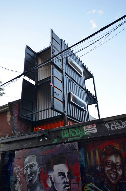 Downtown Toronto Container House