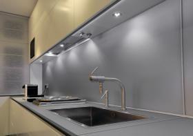 aranżacja wnętrz - Wykorzystano oprawę Furniture LED 111821   /oświetlenie LED/