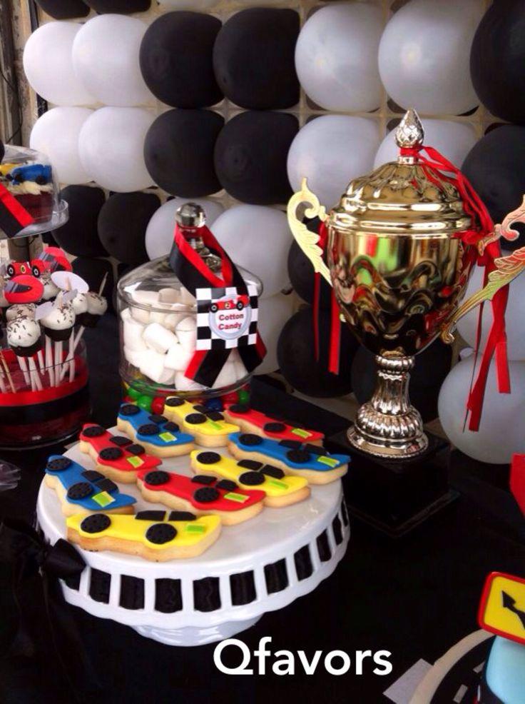 Cookies race car birthday party race car birthday hot