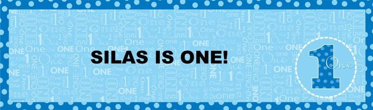 Everything One Boy Personalized Banner