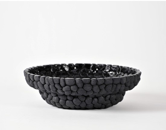 Sustainable Design: Tableware Made From Old Car Tires, by Debbie Wijskamp (2012).
