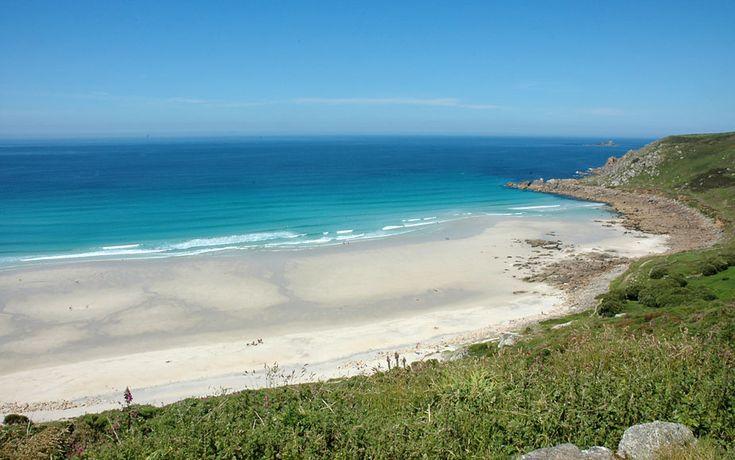 Gwenver Beach (Gwynver) - West Cornwall nr Sennen - very surfy!